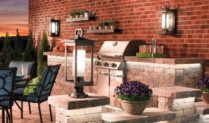Outdoor Lighting for patio and grill