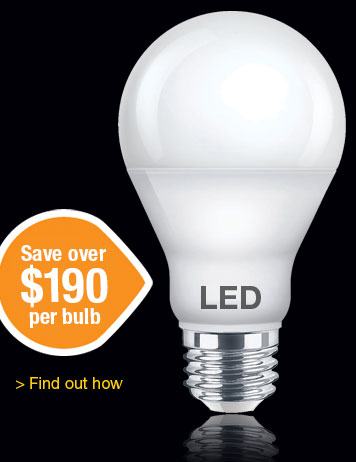 LED Light bulb Savings