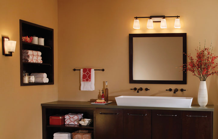 Bathroom Lighting Design lighting in bathroom Kichler Bathroom Lighting