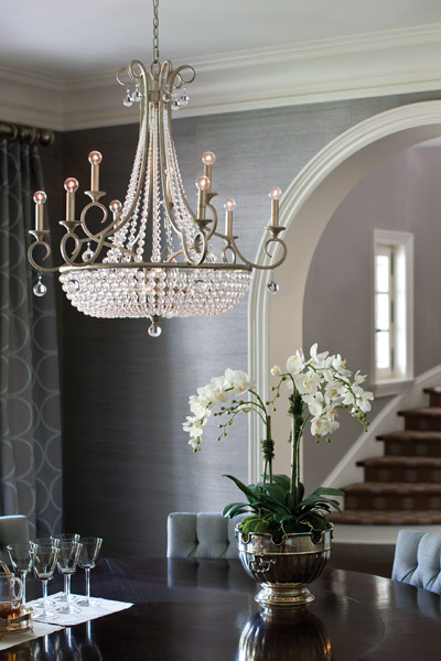 How To Size Your Chandelier Wolberg Lighting And Design Stunning Chandelier Size For Dining Room