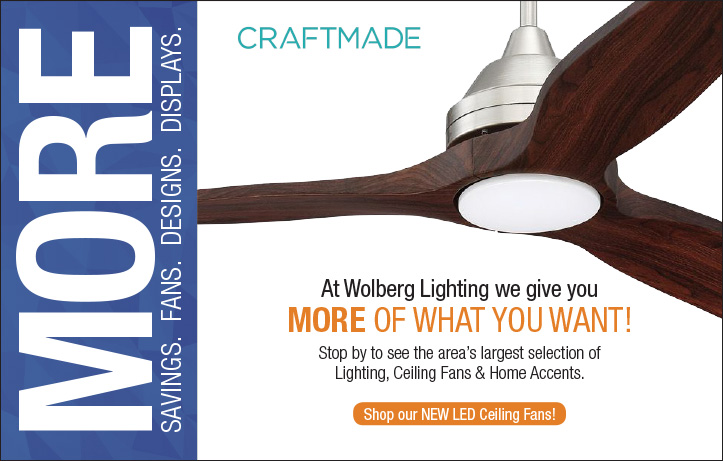 More savings on ceiling fans