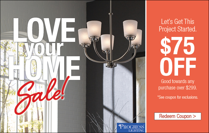 Love Your Home Lighting Sale