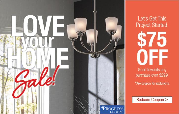 Love Your Home Lighting Sale
