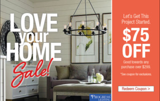 Love Your Home - Lighting Coupon
