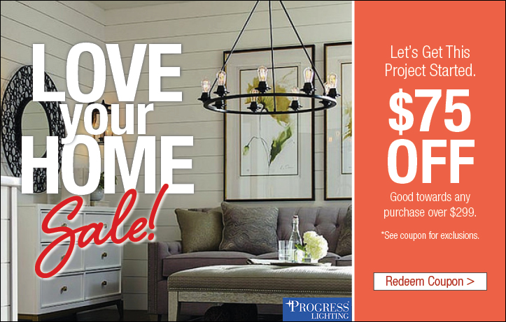 Love Your Home - Lighting Coupon