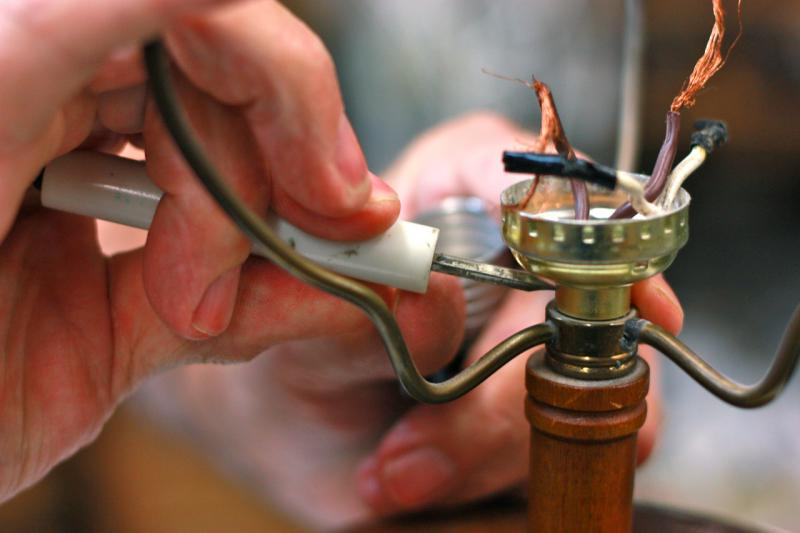 Lamp Repair Wolberg Lighting And Design